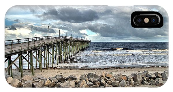 Clouds Over The Pier IPhone Case