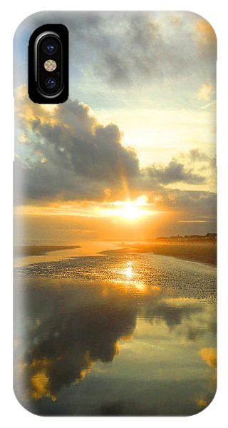 Clouds Reflection By Jan Marvin IPhone Case