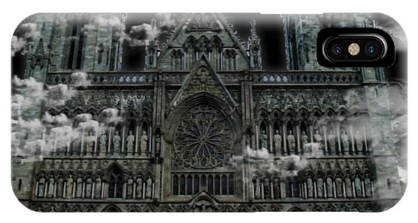 Cloudy Cathedral IPhone Case