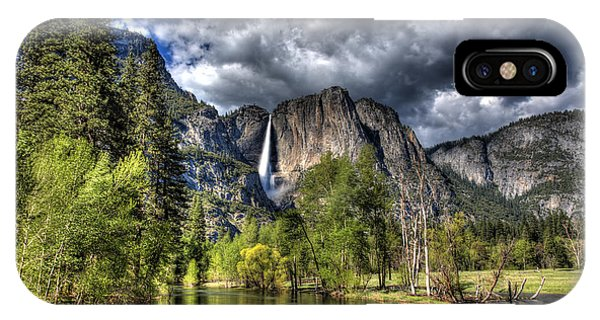 Cloudy Day In Yosemite IPhone Case