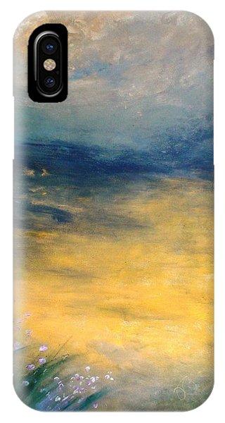 Cloudy Horizon IPhone Case