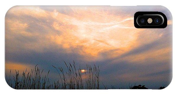 Cloudy Sunrise IPhone Case