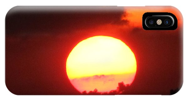 Cloudy Sunset 21 May 2013 IPhone Case