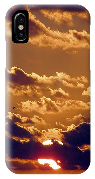 Key West Cloudy Sunset IPhone Case