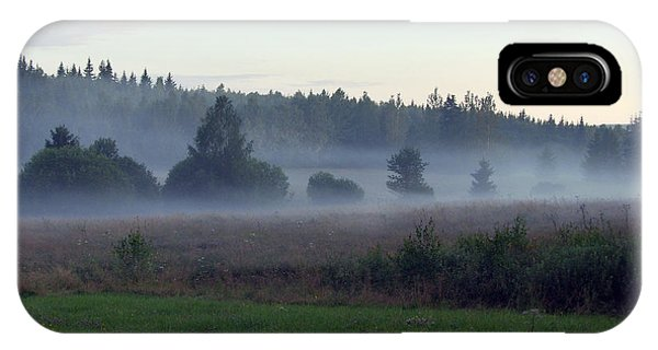 iPhone Case - Cloudy Trees by Are Lund