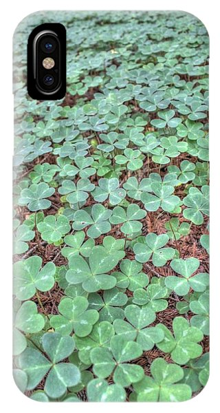 St. Patricks Day iPhone Case - Clover by Jane Linders
