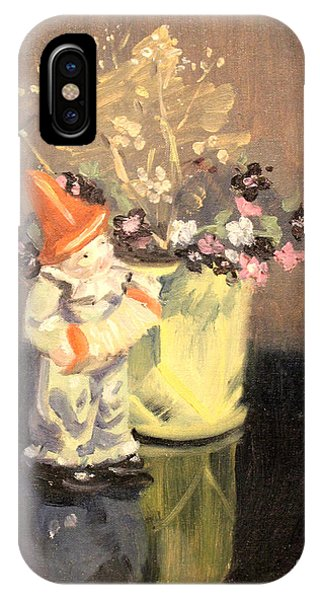Clown And Flowers 1939 IPhone Case