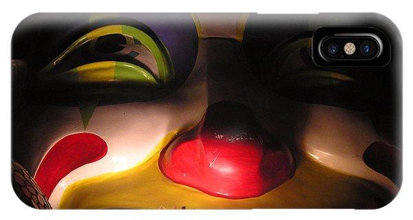 Clown In The Antique Shop IPhone Case