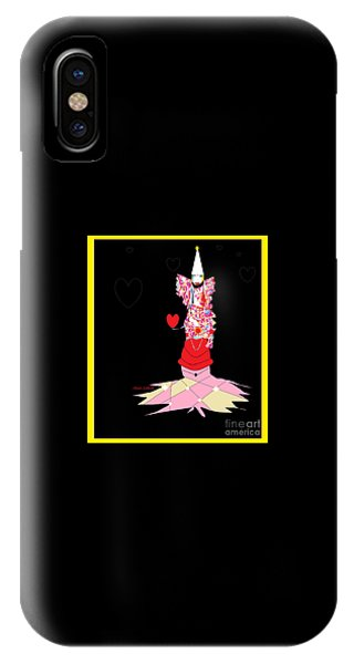 Clown Love IPhone Case