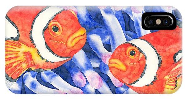 Clownfish Couple IPhone Case