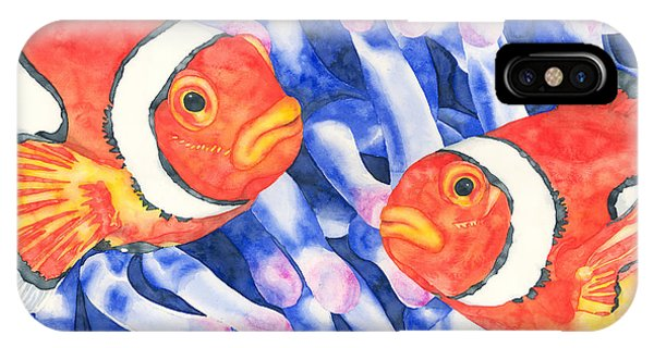 Clownfish Couple IPhone Case