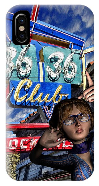 Club 36 IPhone Case
