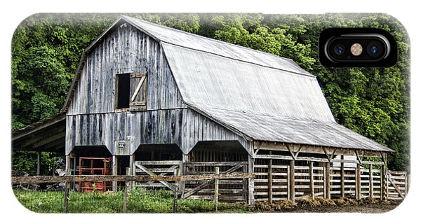 Cricket iPhone Case - Clubhouse Road Barn by Cricket Hackmann