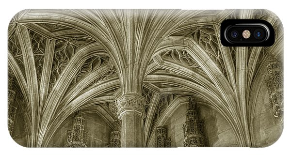 Cluny Museum Ceiling Detail IPhone Case
