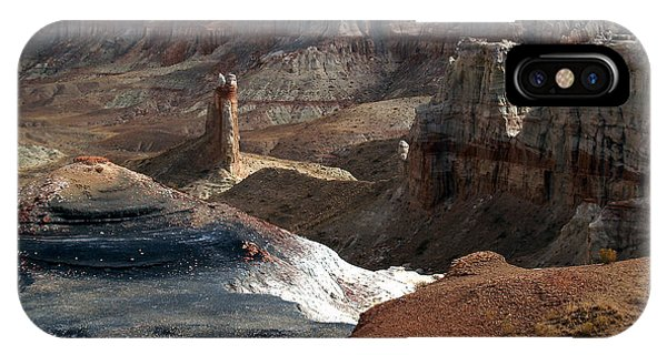 Coal Mine Mesa 09 IPhone Case