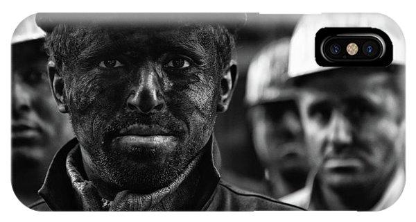 Working iPhone Case - Coal Mine Workers...3 by Yavuz Sariyildiz