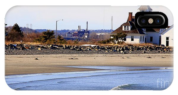 Coast Guard  Beach Nahant IPhone Case