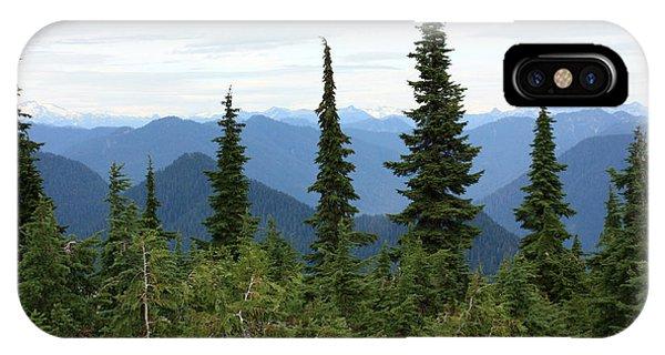Coast Mountain Range IPhone Case