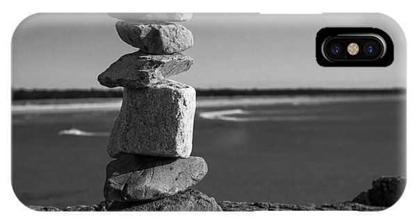 Coastal Cairn IPhone Case