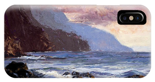 Coastal Cliffs Beckoning IPhone Case