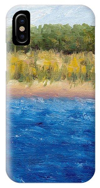 Michelle iPhone Case - Coastal Dunes 2.0 by Michelle Calkins