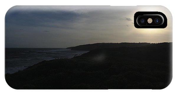 Coastal Evening Sun IPhone Case