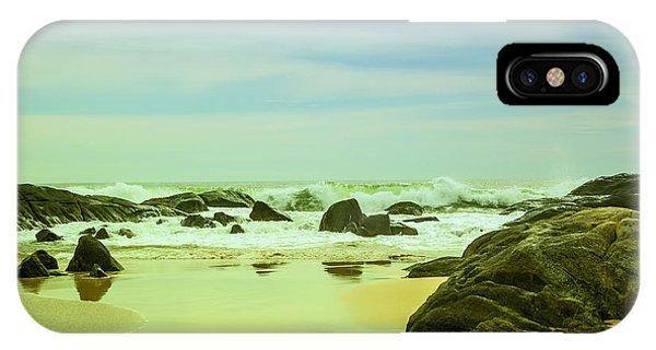 Tropes iPhone Case - Coastal Landscape Of Sri Lanka by Gina Koch