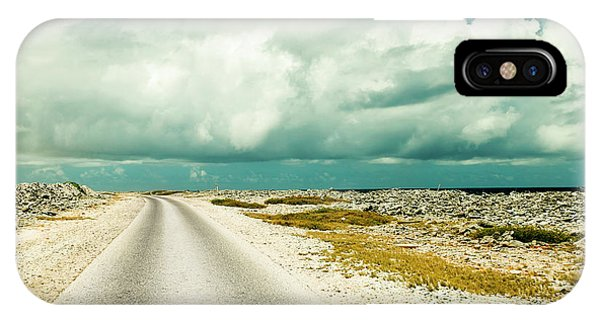 Carribbean iPhone Case - Coastal Road Around Bonaire by James White