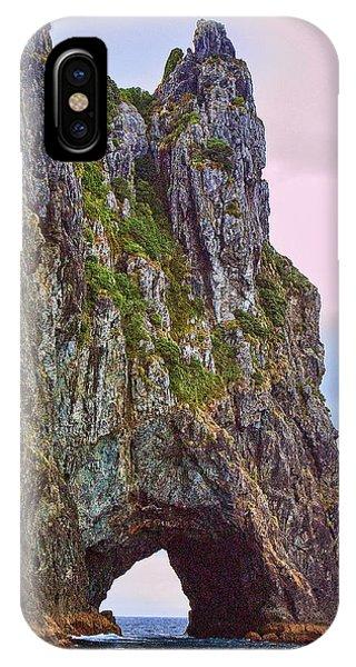 Coastal Rock Open Arch IPhone Case