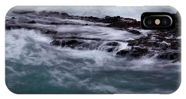 Coastal Rocks Off Rancho Palo Verdes Photography By Denise Dube IPhone Case