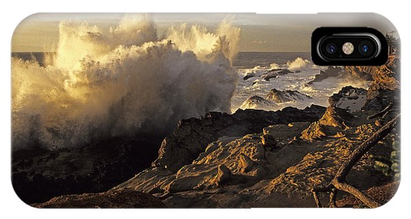 Coastal Storm Wave IPhone Case