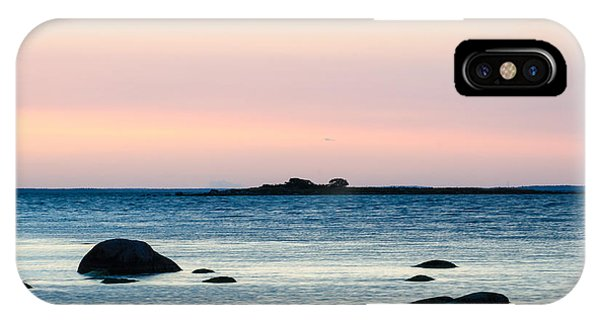 Rights Managed Images iPhone Case - Coastal Twilight View by Kennerth and Birgitta Kullman