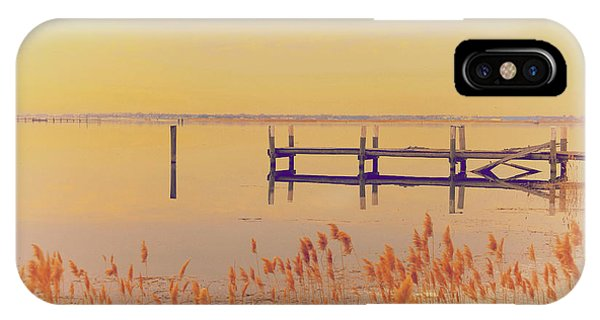 New England Coast iPhone Case - Coastal Winter by Karol Livote