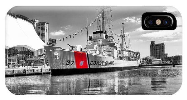 Coastguard Cutter IPhone Case