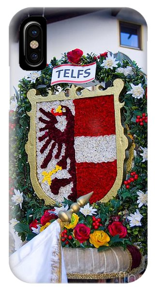 Coat Of Arms Of Austrian Town Telfs IPhone Case