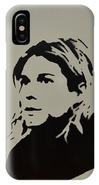 Cobain Spray Art IPhone Case