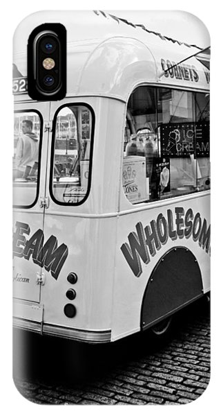 IPhone Case featuring the photograph Cobbles Ice Cream by Michael Hope