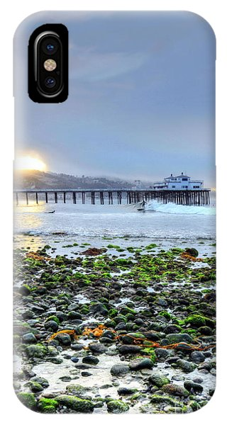 Cobblestone Sunrise At The Bu IPhone Case