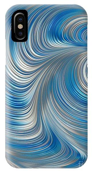 Cobolt Flow IPhone Case