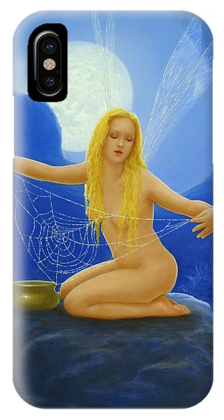 Cobweb The Dew Collector IPhone Case