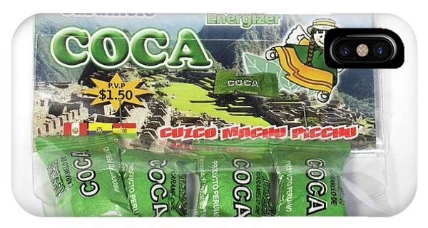 Coca Candies From Peru Phone Case by Dr Morley Read