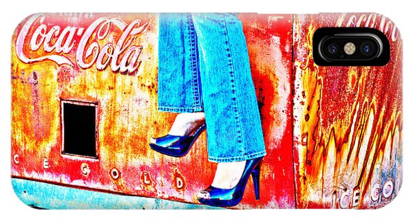 Coca-cola And Stiletto Heels IPhone Case