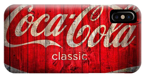 Barn iPhone Case - Coca Cola Barn by Dan Sproul