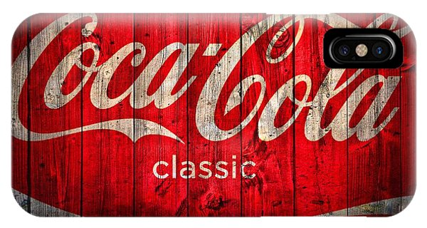 Coca Cola Barn IPhone Case