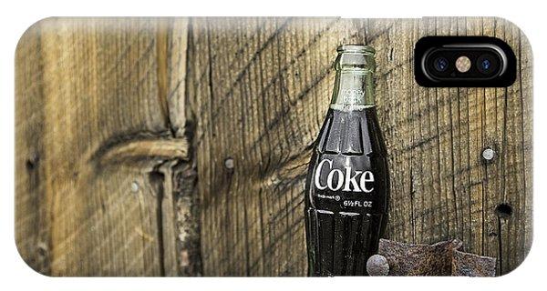 Coca-cola Bottle Return For Refund 9 IPhone Case