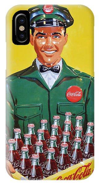 Coca Cola Vintage IPhone Case