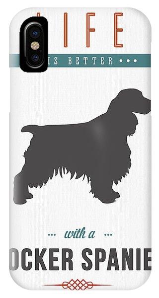 Cocker Spaniel 01 IPhone Case