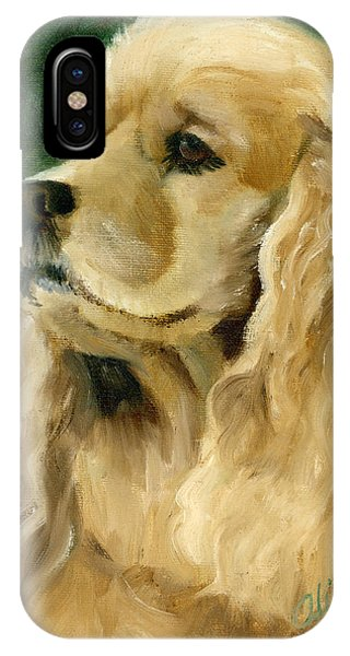 Cocker Spaniel Dog IPhone Case