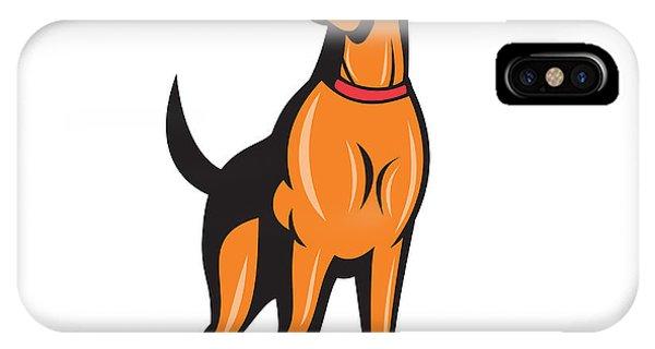 Cocker Spaniel Golden Retriever Dog Cartoon IPhone Case