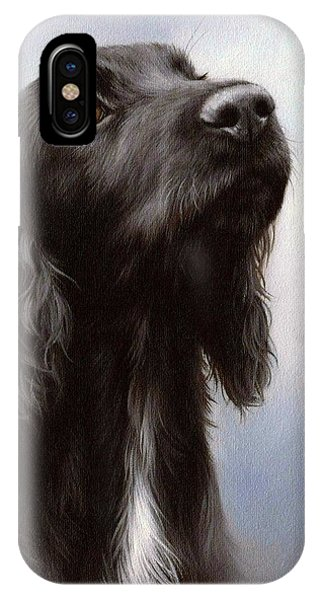 Cocker Spaniel Painting IPhone Case